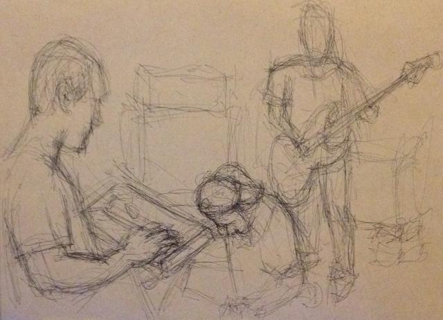 Band Practice 1 Huashan, Taipei 29:7:15