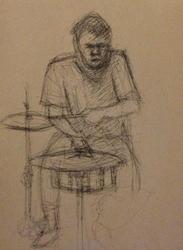 Band Practice 2, Leonard, 29:7:15 and 5:8:15