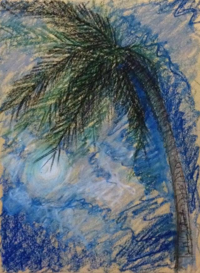 Full Moon and Palm Tree, Moon Festival, Fridays, Boracay, 28:9:15