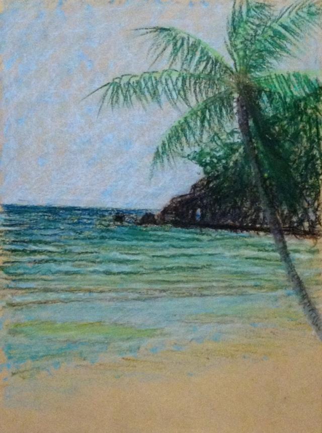 Rocks and Path to Diniwid Beach, Fridays Beach, Boracay, 29:9:15