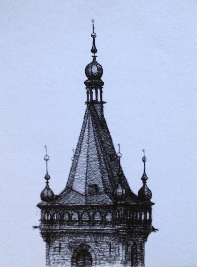 Spire,Prague 3-7:5:15