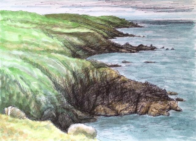 Cloggi Coastal Path, St Ives