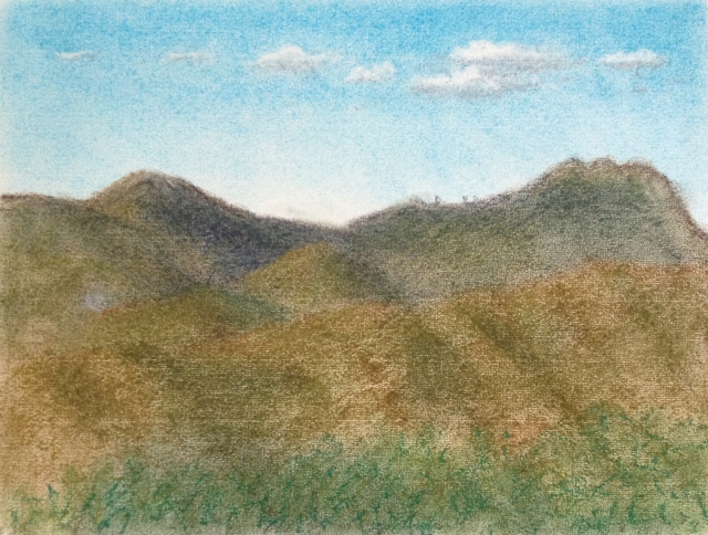 yang-ming-mountain-pastel-on-paper-30-5x23cm18122016